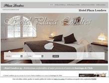 Tablet Preview of hotelplazalondres.cl